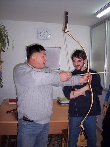 Mongolian Bone Thumb Ring