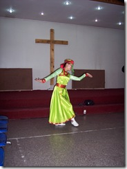 Mongolian dancer