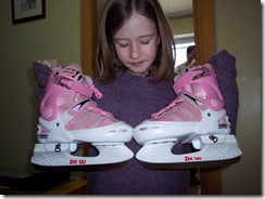 New ice skates